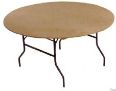 Folding Dining Table - Round (183cm)
